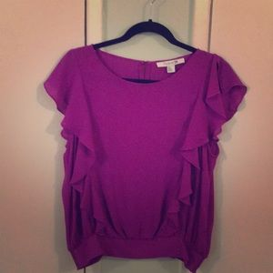 Forever 21 Purple Blouse Large
